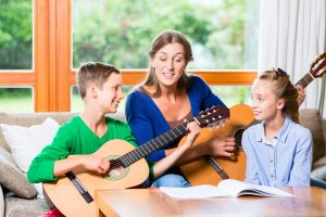 Private In Home Guitar Lessons